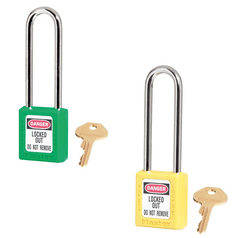 Master Lock 410 Keyed Different Zenex™ Thermoplastic Safety Padlock