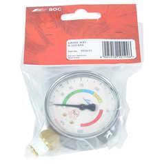 BOC Acetylene Gauge: 0-220 kPa
