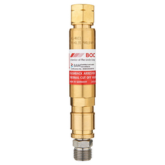 BOC Standard Flow Regulator End QRC Fuel Gas Flashback Arrestor