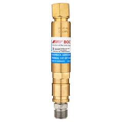 BOC Standard Flow Regulator End QRC Oxygen Flashback Arrestor