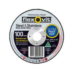 Flexovit A46T-BF41 Ultra Thin Mega Inox Premium Cut-Off Wheel