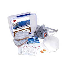 3M 6251 Half Face Respirator with Spraying Starter Kit