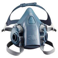 3M 7500 Series Premium Half Face Respirator