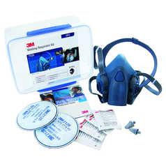 3M 7528 Half Face Respirator with Welding Starter Kit