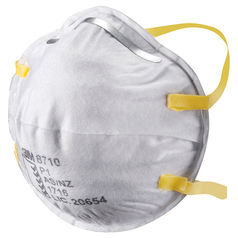 3M 8710 Cupped Disposable Respirator