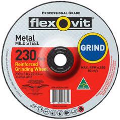 Flexovit A24/30P-BF27 Reinforced Grinding Wheel