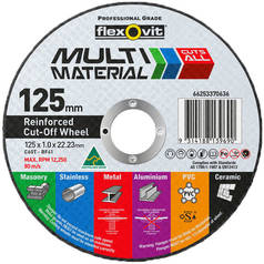 Flexovit C60T-BF41 Multi Material Cutting Disc