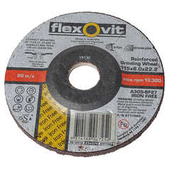 Flexovit A30S Metal Depressed Centre Iron-Free Grinding Wheel