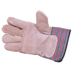 BOC Candy Striped Economical Leather Glove