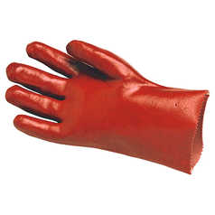 UMATTA Red PVC Glove: 27cm