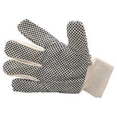UMATTA Cotton Drill Glove with Polka Dot Palm