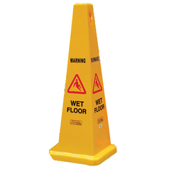 Gala Yellow Wet Floor Safety Cone
