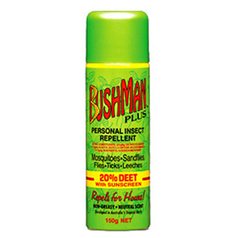 Bushman Plus Insect Repellent Aerosol with Sunscreen