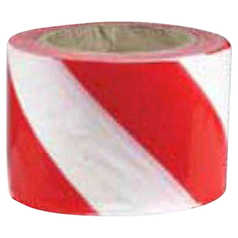 Uniform Safety Diagonal Striped Barrier Tape