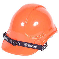 UniSafe TA570 UniLite Vented Safety Helmet with Chin Strap