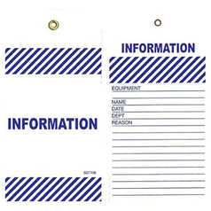 Uniform Safety Information Tag