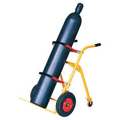 BOC Single Size Cylinder Trolley