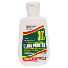 Ultra Protect SPF 30+ Sunscreen Lotion with Insect Repellent