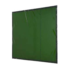 WELD GUARD Green Welding Curtain