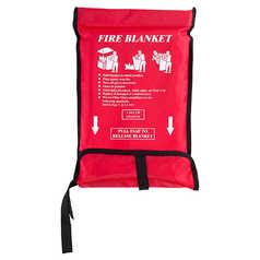 WELD GUARD Fire Blanket in Wall Bag