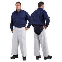WELD GUARD Leather Welder's Pants - Seatless